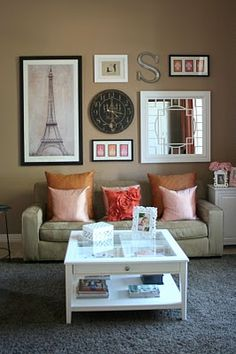 Classy Wall Ideas For The Living Room