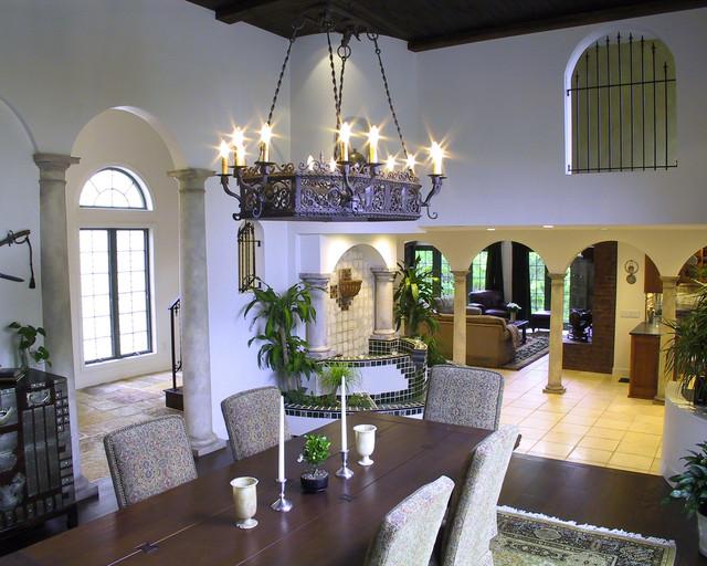 Classic Mediterranean Dining Room Designs