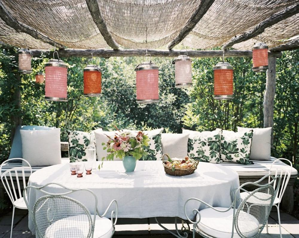 Classy And Unique Outdoor Dining Ideas