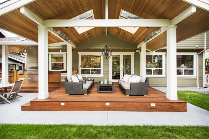 Classy Transitional Outdoor Design
