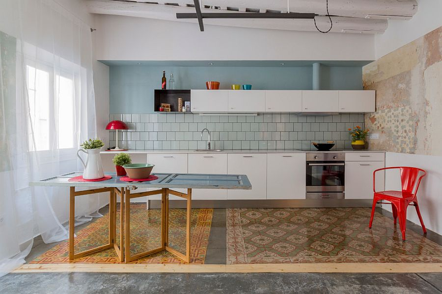 Creative-kitchen-island-idea-for-the-modern-eclectic-kitchen