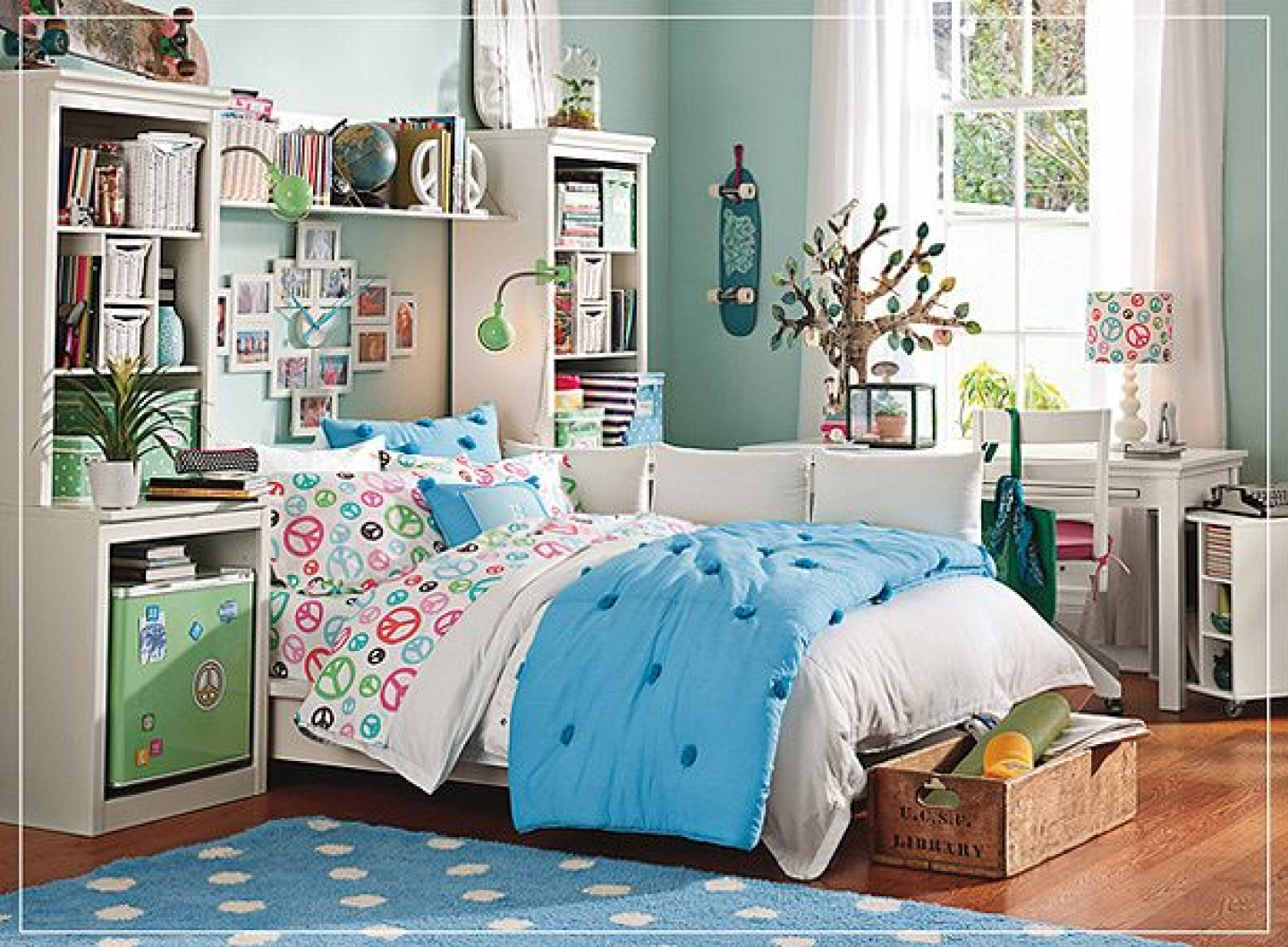 Modern And Trendy Teen Girl Bedrooms - Interior Vogue