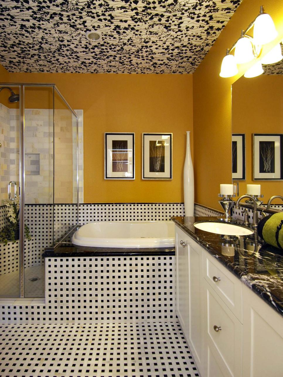 Fabulous Yellow Bathrooms