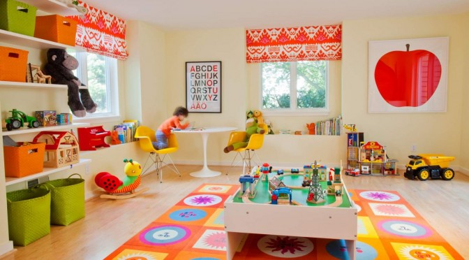 Interesting And Joyful Colorful Kids Room Designs