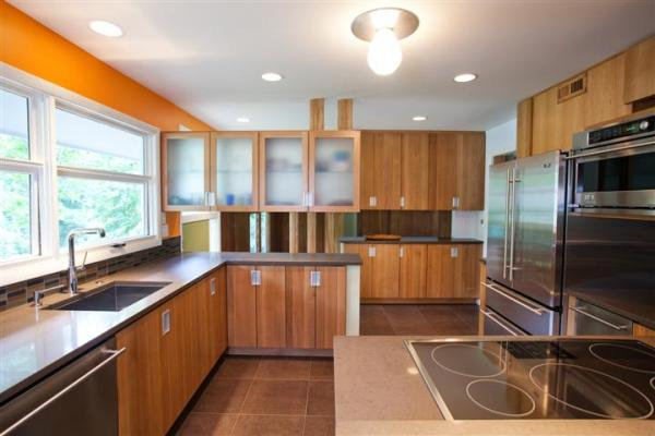 Gorgeous Mid Century Kitchen Design