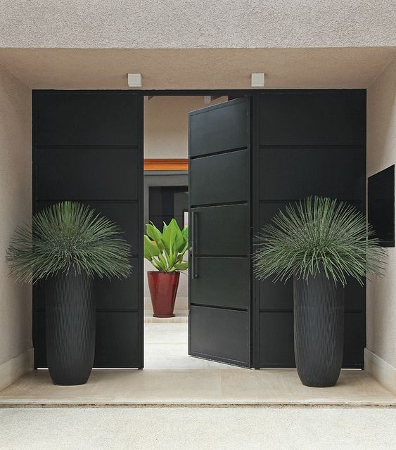 Lovely Modern Entry Design