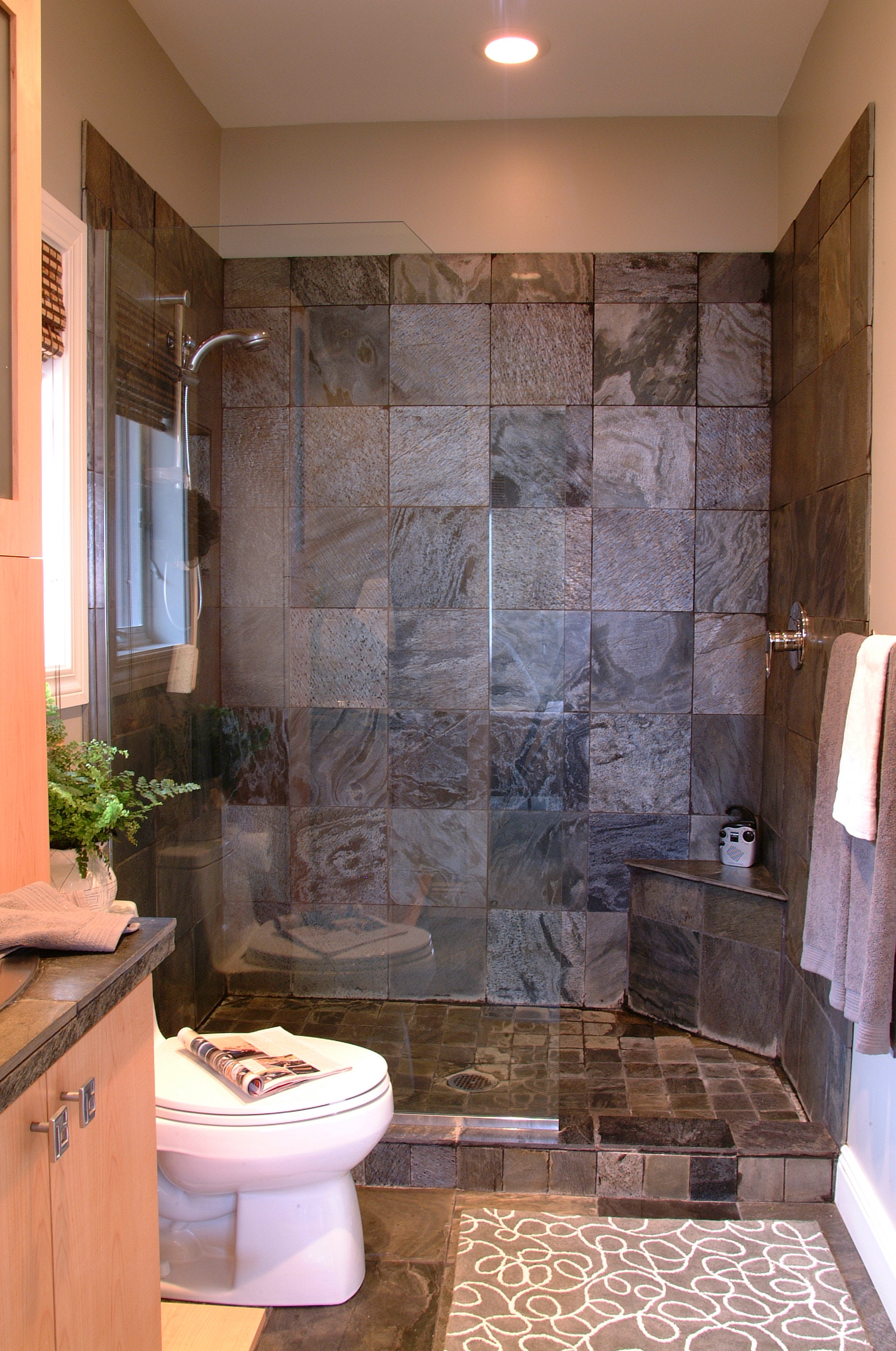 New Bathroom Design with Walk In Shower
