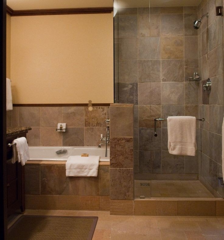 Nice Bathroom Design with Walk In Shower