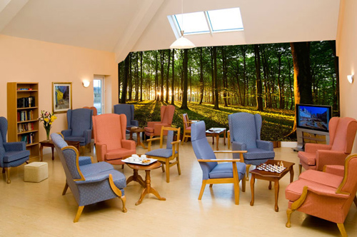 Residential-care-home-wall-mural