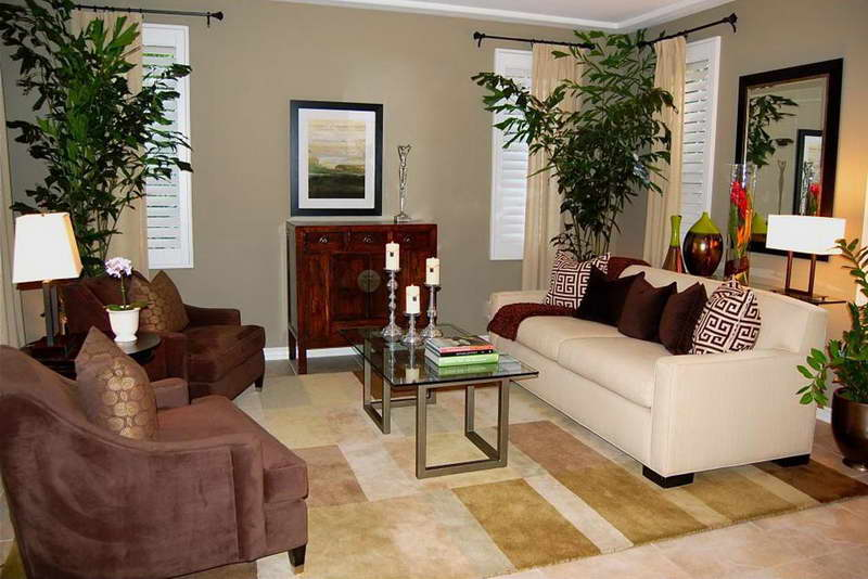 Living rooms decoration with plants interior vogue Room design site