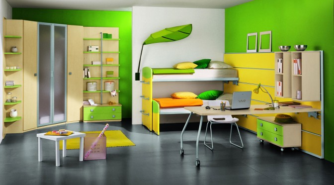 Joyful And Attractive Modern Kids Bedroom Designs