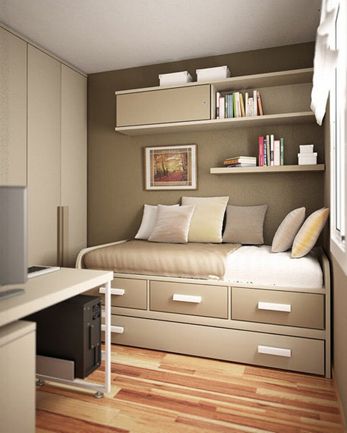 creative small bedroom ideas