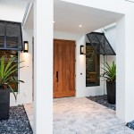 Stylish And Splendid Tropical Entry Designs