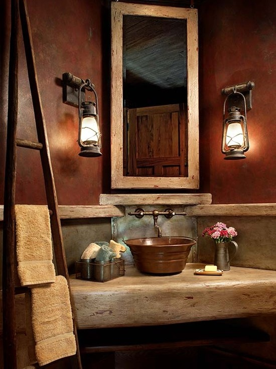 Awesome Rustic Bathroom Designs