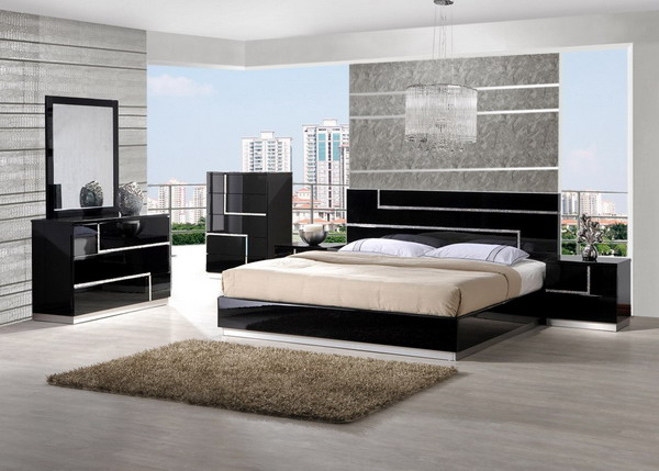 Contemporary-Black-Bedroom-Set