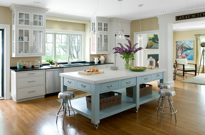 Gorgeous Kitchen Island Designs
