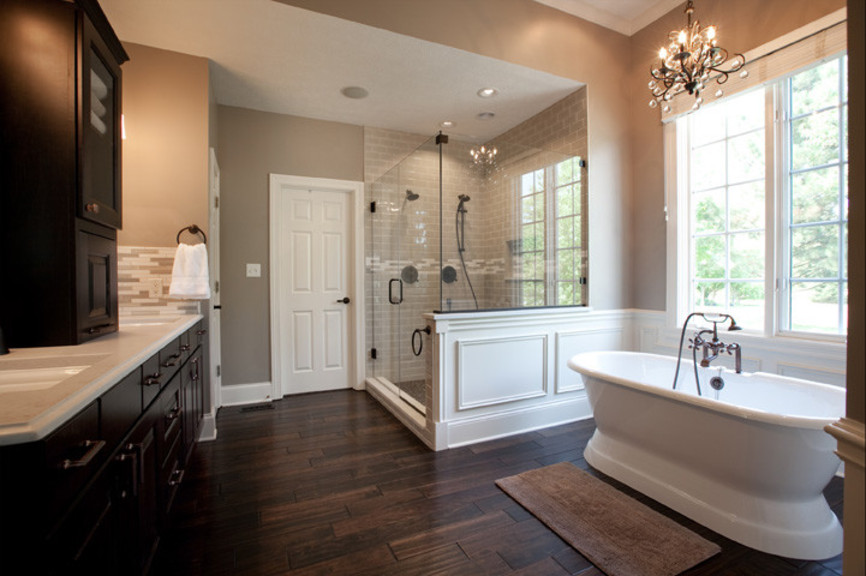 Gorgeous Traditional Bathroom Designs