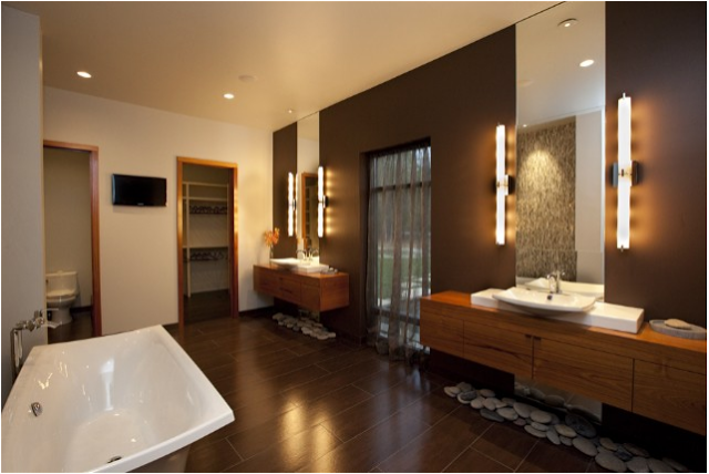 Lovely Asian Bathroom Design