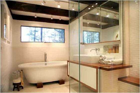 Mid-Century Modern bathroom design