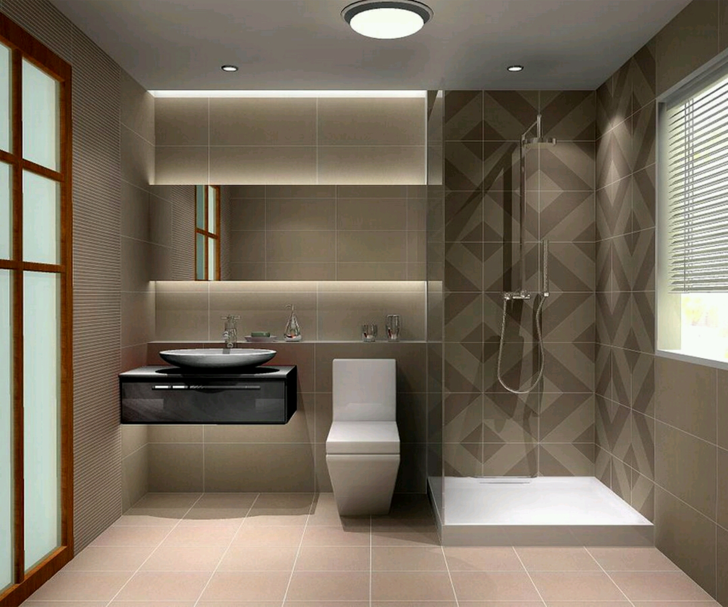 Modern bathrooms designs pictures