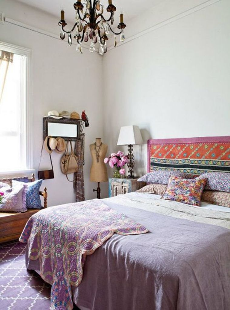 Beautiful Boho Chic Bedroom Designs - Interior Vogue on Modern Bohemian Bedroom Decor  id=98302