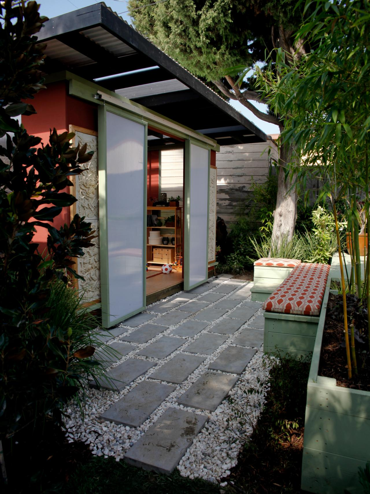 Asian Style Home Office Exterior