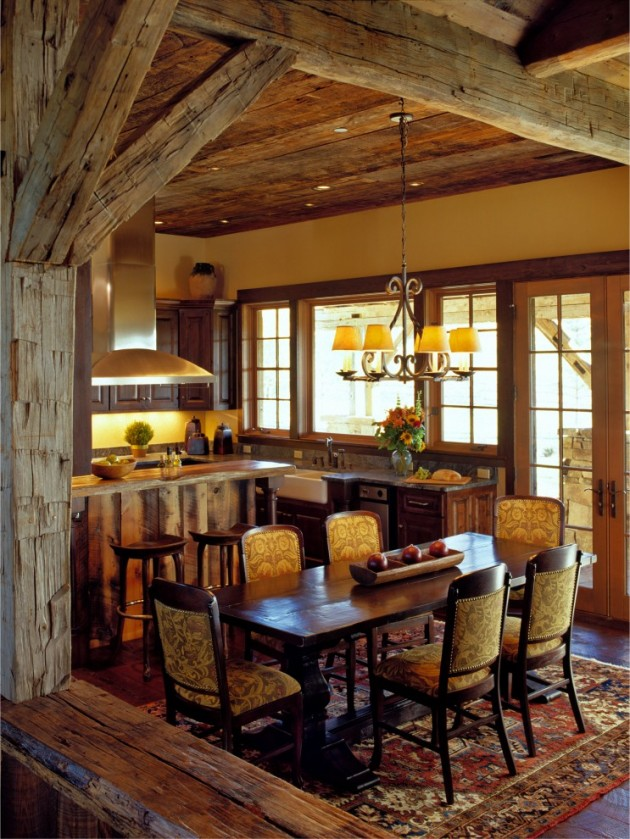 Cozy-Southwestern-Dining-Room-Design