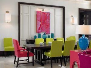 25 Charming Colorful Dining Room Design Ideas