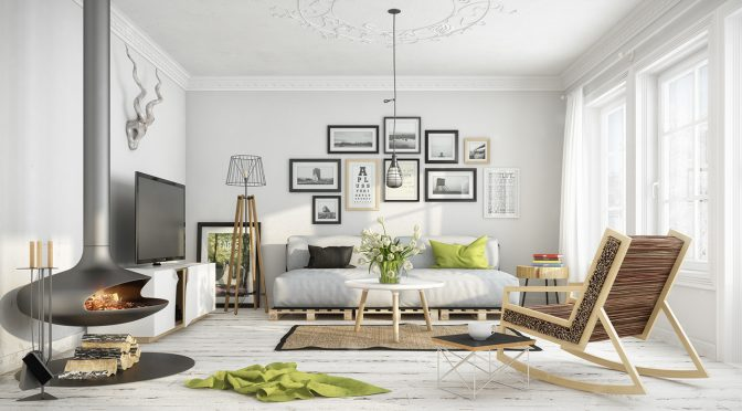 25 Scandinavian Living Room Design Ideas