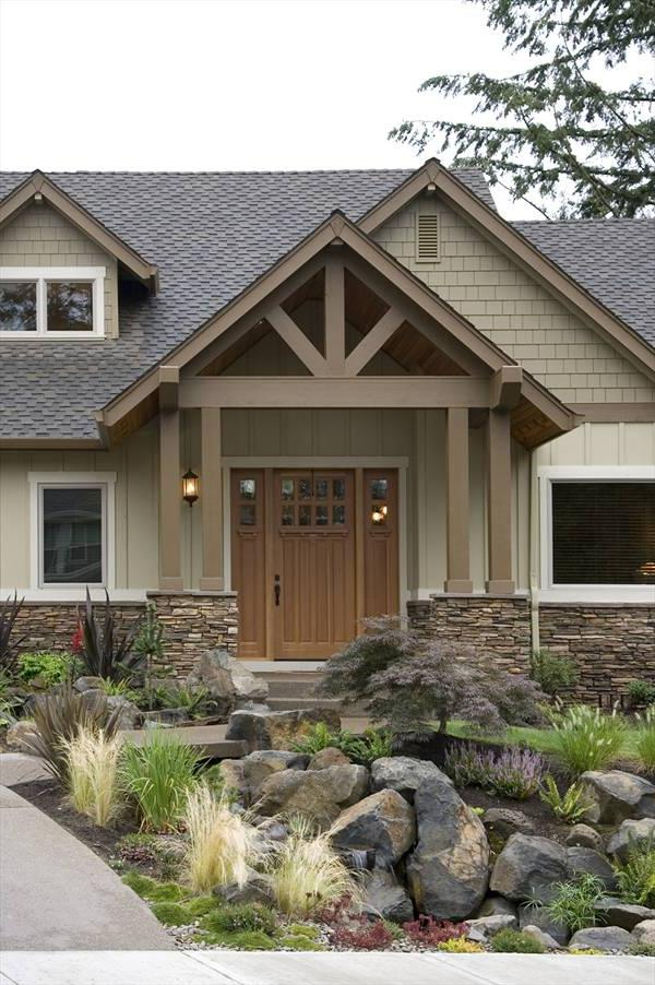25 Amazing Craftsman Exterior Design Ideas - Interior Vogue