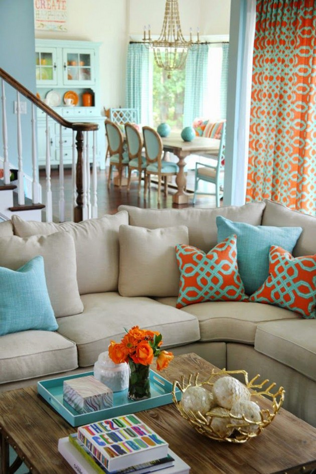 Light-Blue-Beach-Style-Living-Room-Design