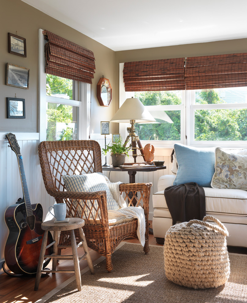 Sunroom Dining Room Creative: 25 Coolest Beach Style Living Room Design Ideas