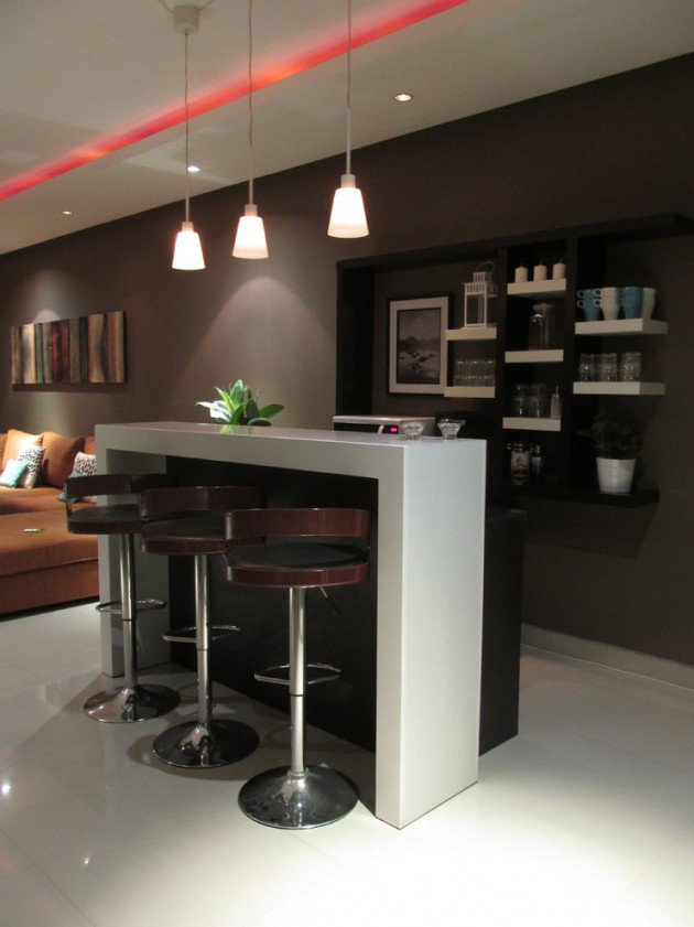 30 stylish contemporary home bar design ideas interior vogue - Contemporary modern home design ideas with decor ...