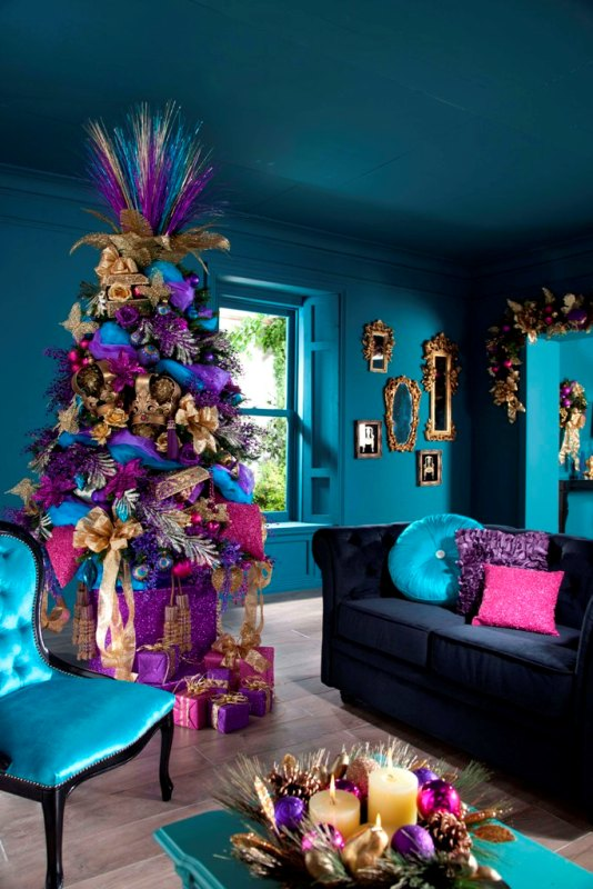 attractive-christmas-tree-decorating-ideas