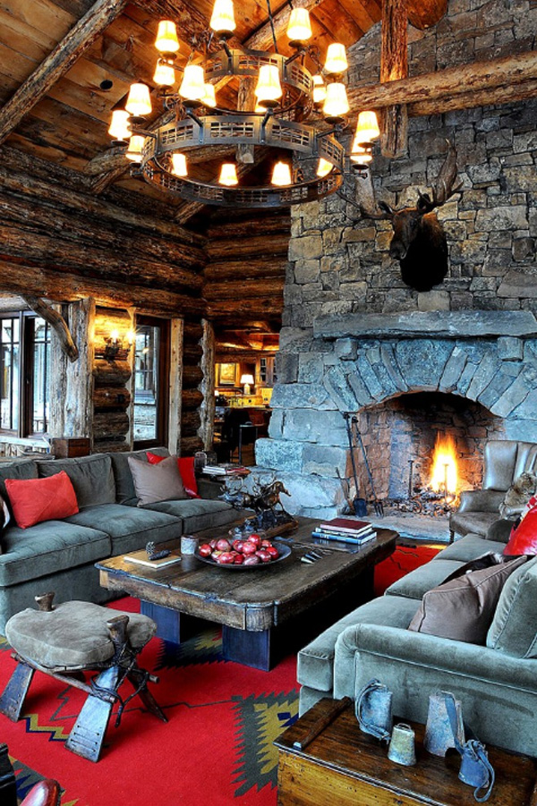 35 Classy Rustic Living Room Design Ideas - Interior Vogue