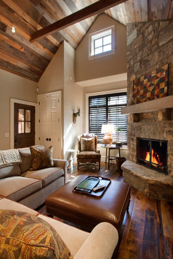 35 classy rustic living room design ideas interior vogue for Rustic living room interior design