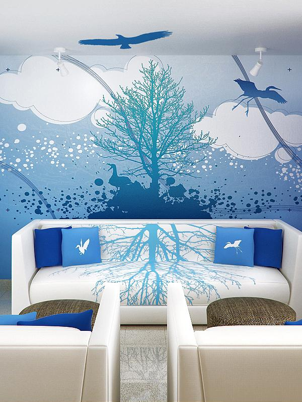 sky-blue-walls-interior-design