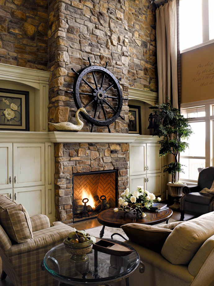Pictures Of Interior Design Living Rooms: 40 Beautiful Living Room Designs With Fireplace