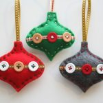 35 Superlative Felt Christmas Decoration Ideas