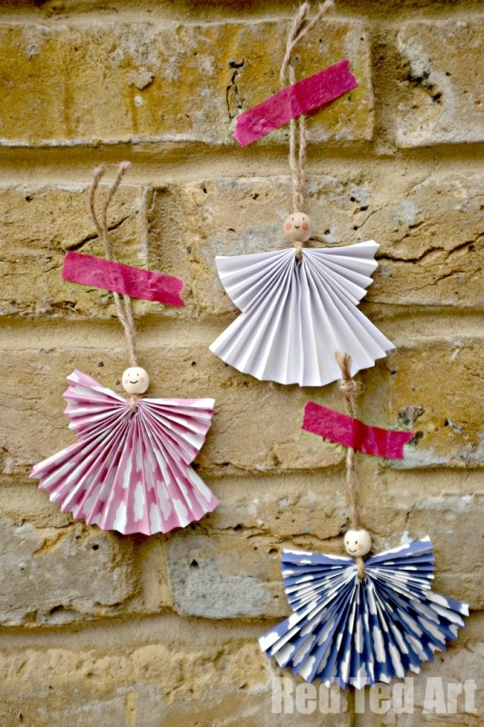 paper-angel-christmas-decorations
