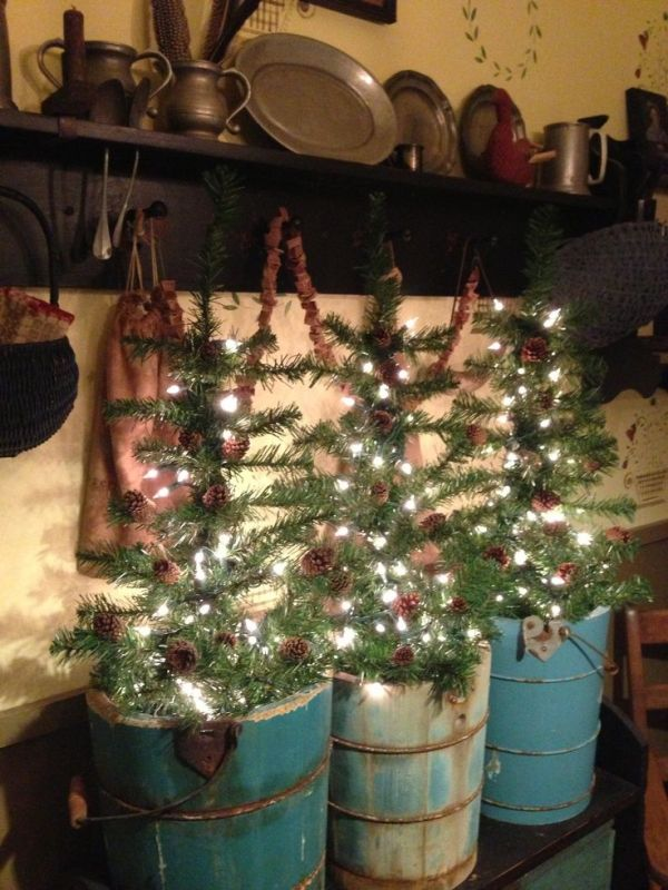 primitive-country-christmas-decorating