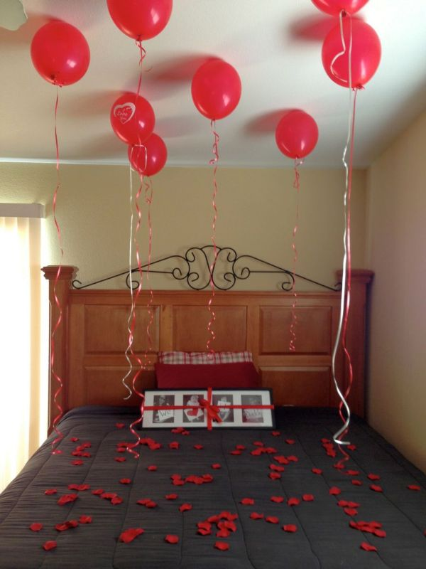 25 romantic valentine 39 s decorations ideas for bedroom - Valentine day room decoration ...
