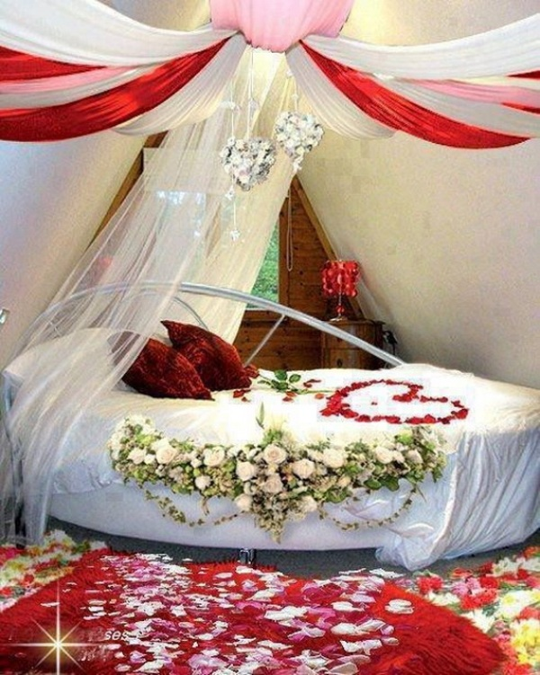 Romantic Room Designs: 25 Romantic Valentine's Decorations Ideas For Bedroom