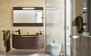 Beautiful Modern Beige Bathroom Vanity Designs