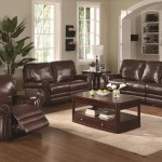 Most Charming Living Room Designs With Leather Furniture