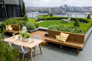 Lovely Terrace Gardens For A Modern Outdoor Space