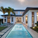 Cool And Classy Transitional Outdoor Design