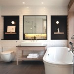 Trendy And Latest Contemporary Bathroom Designs