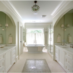 Splendid And Classic Transitional Bathroom Designs