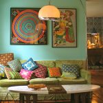 Lovely Bohemian Living Room Designs